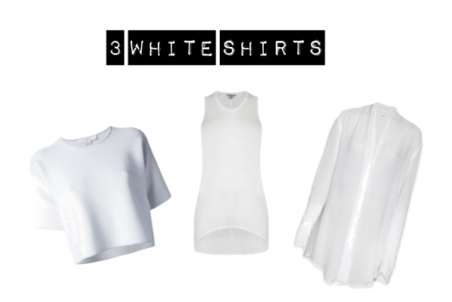 3 Ways to Rock a White Tee This Valentine's Day