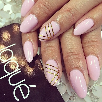 Dope Nails of the Day: Pretty in Pink