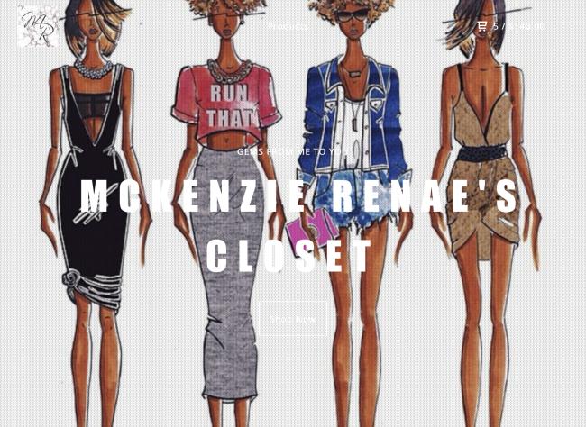 Shop McKenzie Renae's Closet!