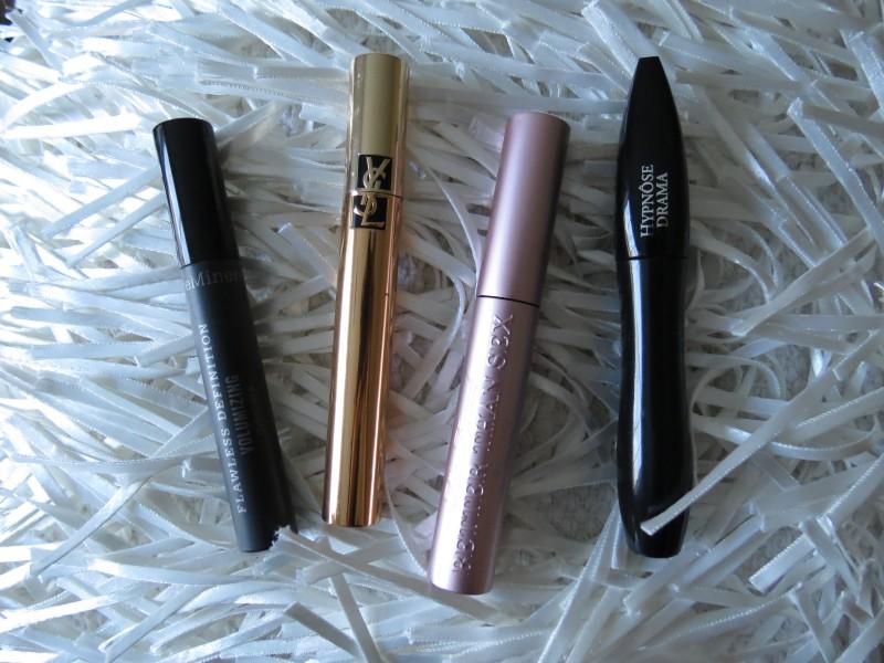 My Top 4 Favorite Mascaras