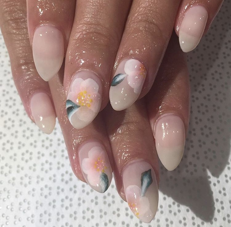 Dope Nails of the Day: Florals