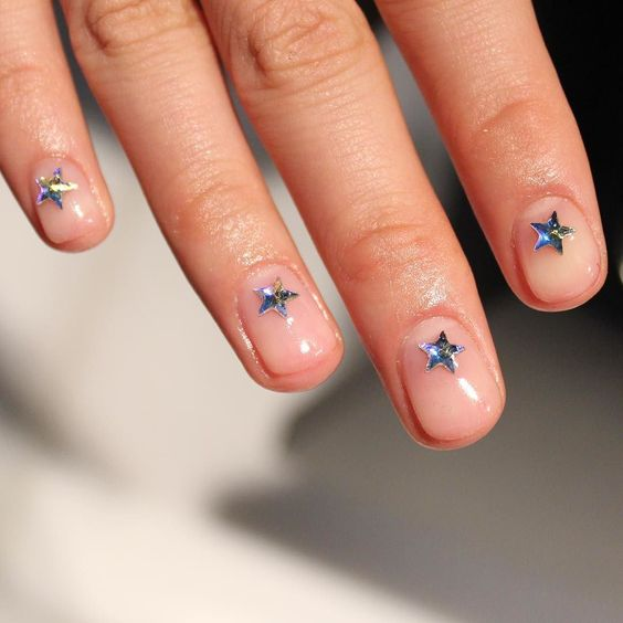 Dope Nails of the Day: Star Burst