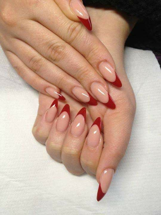 Dope Nails Of The Day: Red French