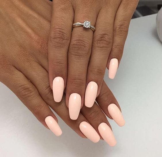 Dope Nails of the Day- Milky Pink